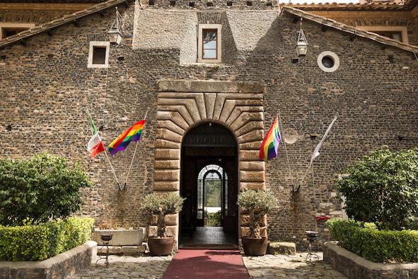 Gay Castle Wedding Video