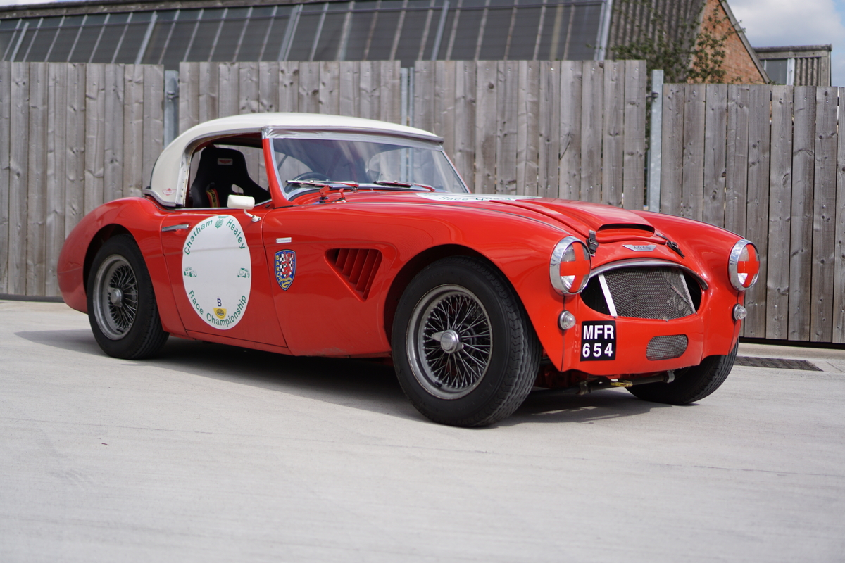 1957 100/6 Austin Healey Race Ready (being prepared for sale)