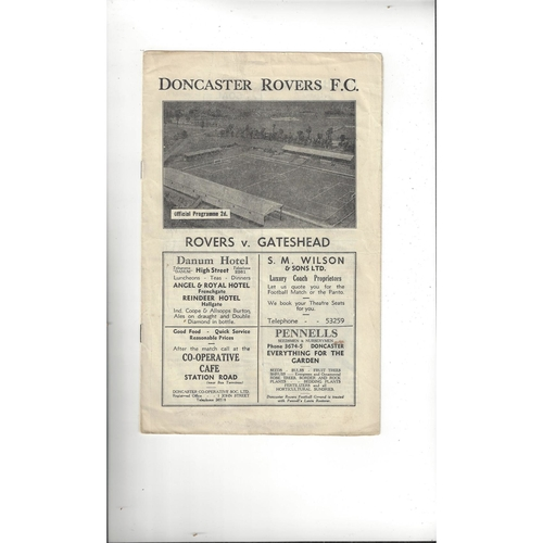Gateshead Away Football Programmes