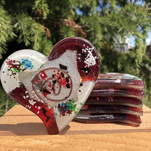 Rhea Coaster (Heart)