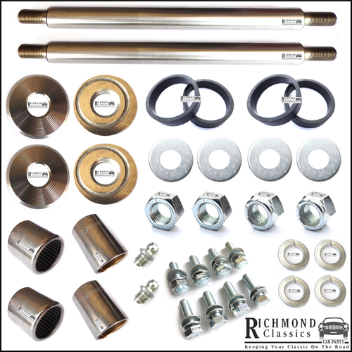 Classic Mini Rear Radius Arm Pin Kits x 2 - GSV1125, ACA9099