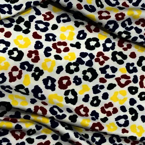 Colour Pop Animal Print Jersey