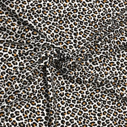 Animal Print Natural Jersey