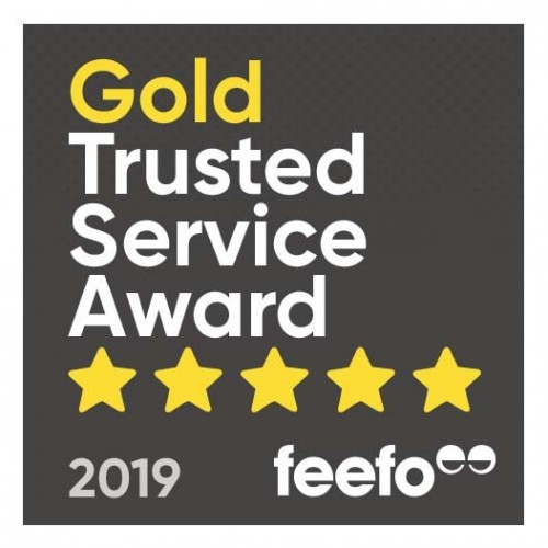 Vita Awarded FEEFO Gold Trusted Service Award 2019