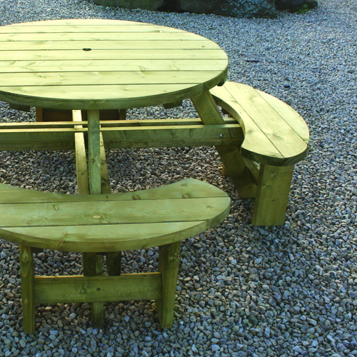 Round Table & Bench Seat RBS