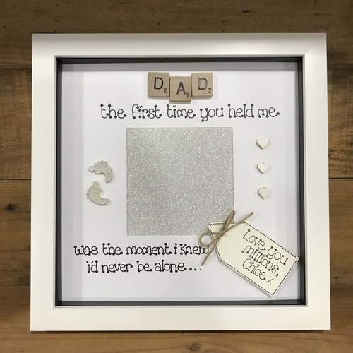DAD quote photo frame
