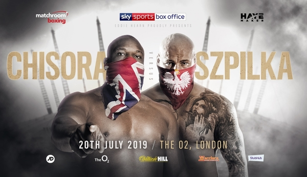 CHISORA AND SZPILKA COLLIDE AT THE O2