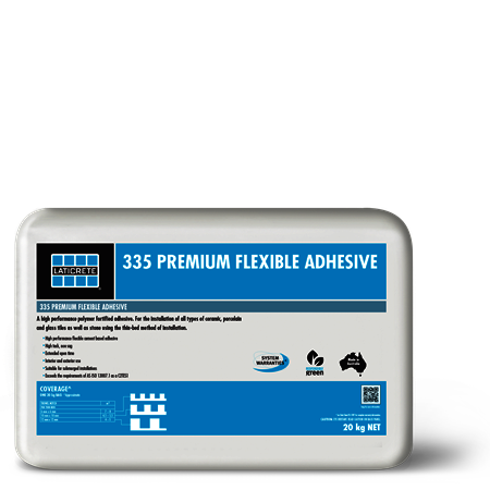Laticrete 335 Slow Set Flexi Adhesive / Grey