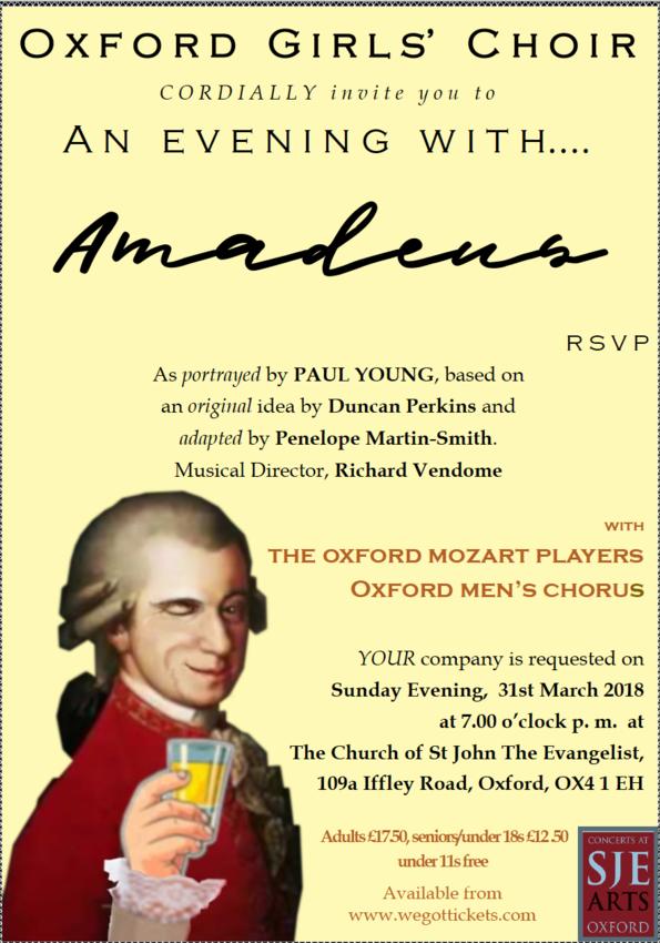 An Evening with Amadeus