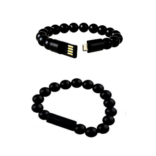 Beads USB Charging Bracelet for Apple products