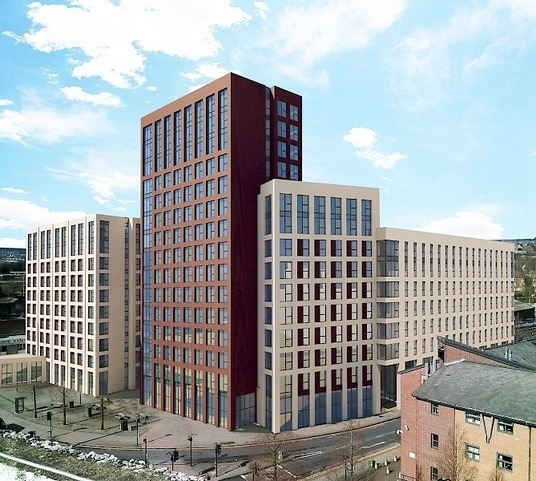 Falcon Fire involved with Fire Safety for 860 bedroom Student Accommodation - Sheffield