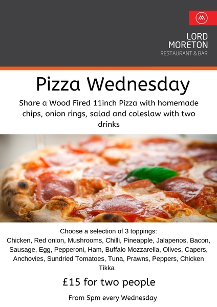 Pizza Wednesday