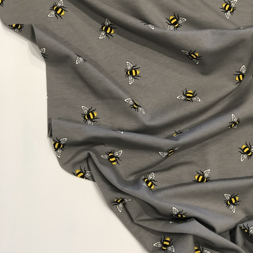 Bees Grey Jersey