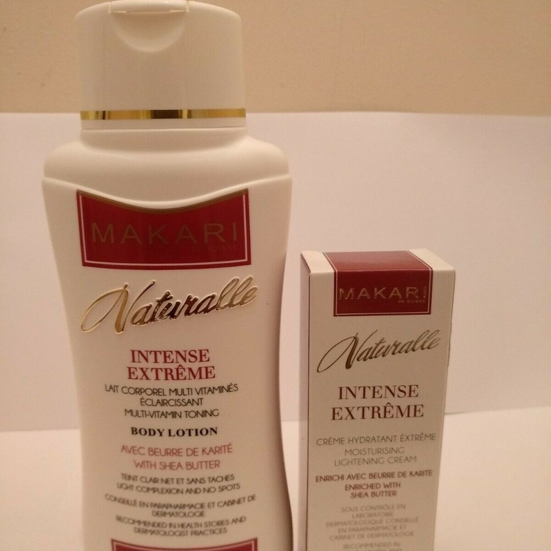 Makari Naturalle Intense Extreme Body Lotion, and Cream