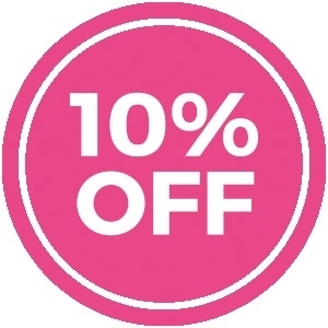 GET 10% OFF FIRST BOOKING!