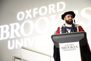 British Pakistani Poet Hussain Manawer Receives Doctorate of Arts at Oxford Brookes University