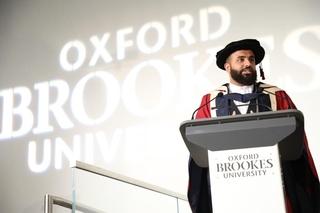 British Pakistani Poet Hussain Manawer Receives Doctorate of Arts at Oxford Brookes University