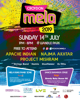 An All-Women Crew Programmed Mela is Back in Croydon