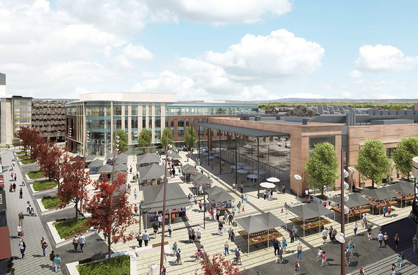 Miller Knight continues work at the Time Square Warrington development