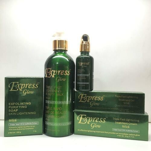 Express Glow Triple Fast Lightening Beauty Products