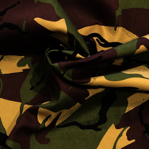 Camouflage Cotton Drill
