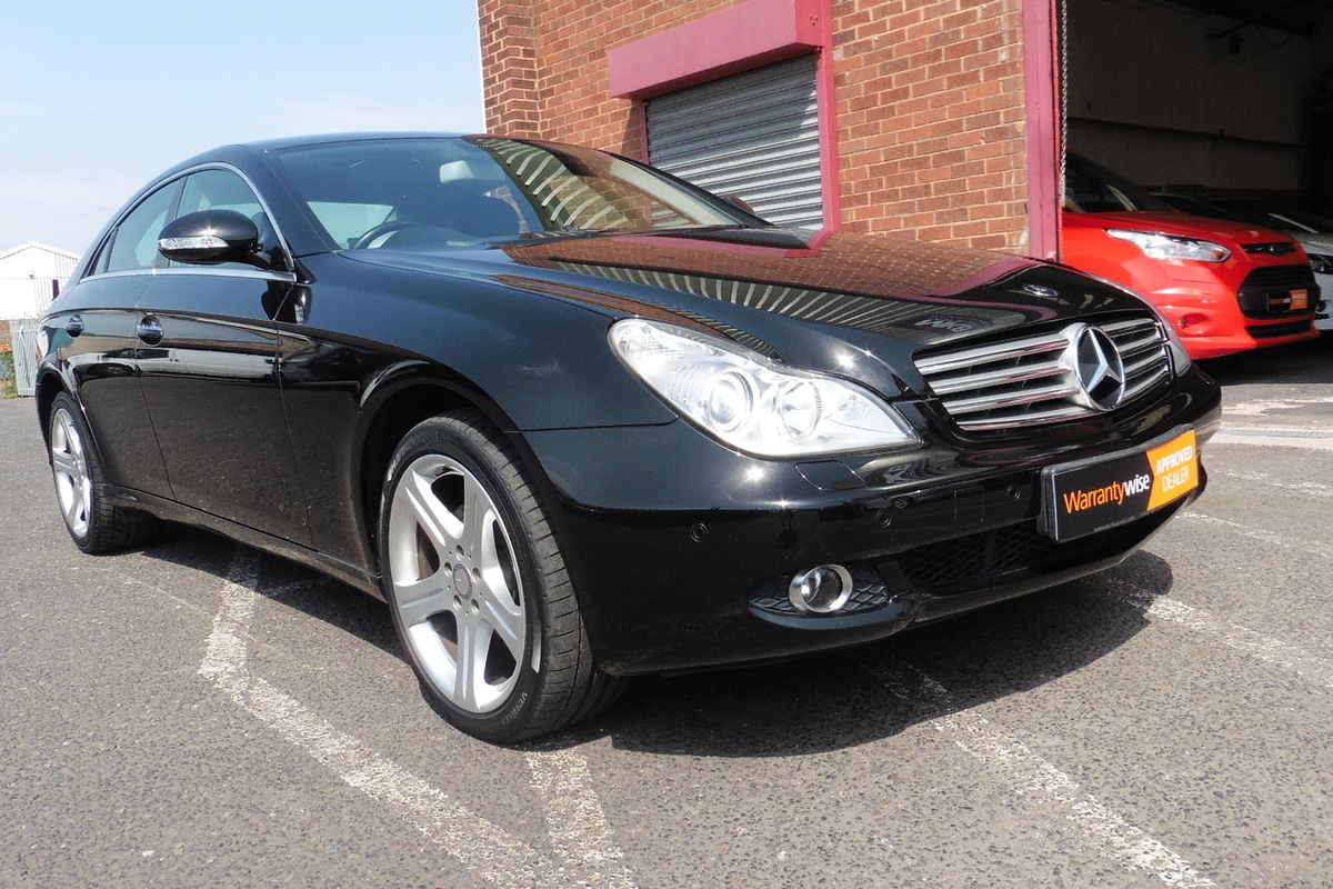 Mercedes-Benz CLS320 CDI 3.0 7G-Tronic 4dr - Sat Nav - Full Leather