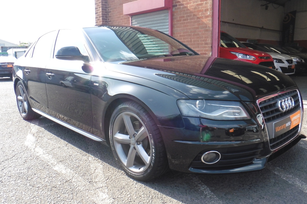 Audi A4 2.0 TDI S line 4dr - Sat Nav - Full Leather Interior - Bluetooth