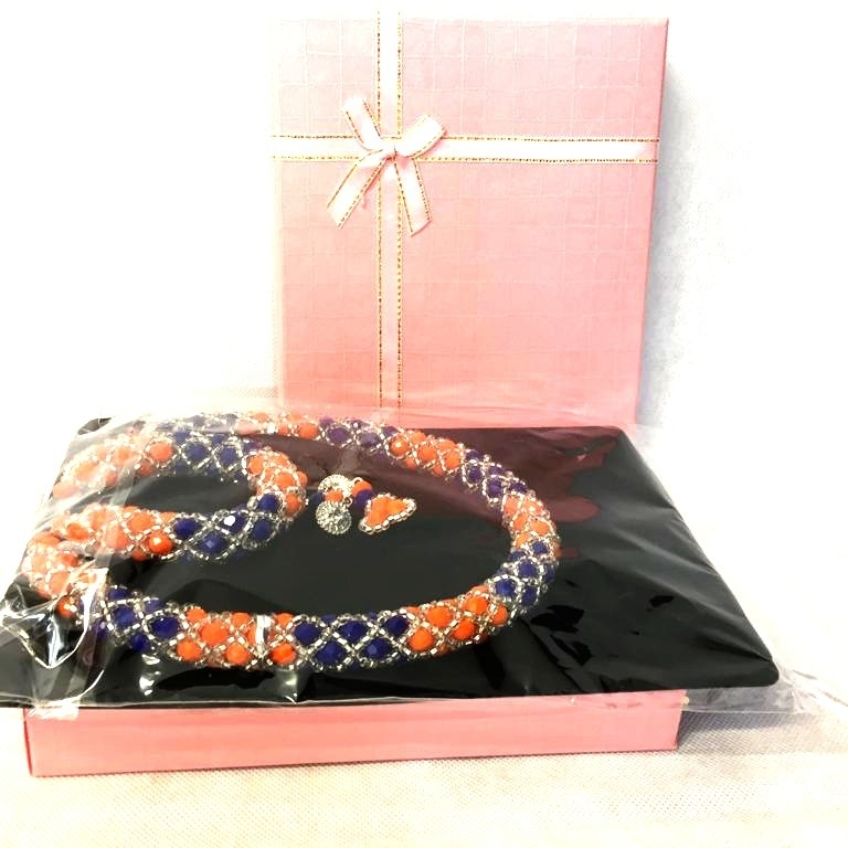 Beads Bangles and Neckless