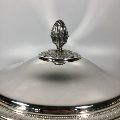 Christofle Malmaison Ecuelle serving dish and cover