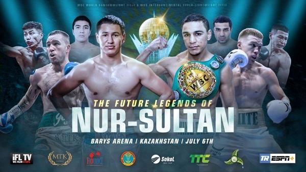 SATURDAY: Oubaali-Villanueva Bantamweight World Title Bout Headlines Landmark Event in Kazakhstan LIVE on ESPN+