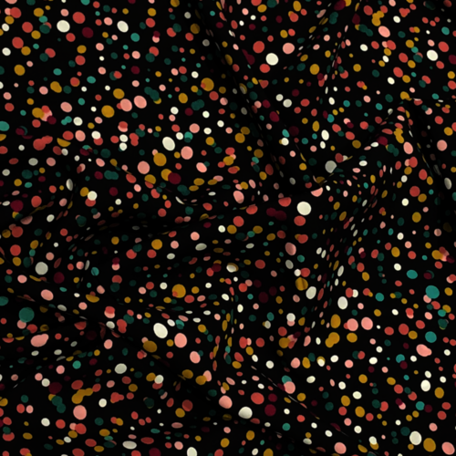 Spot Explosion Brown Viscose