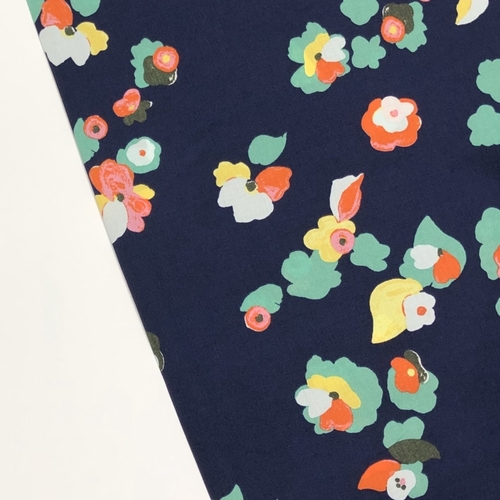 Happy Flowers Viscose
