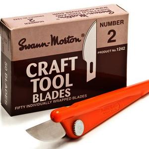 Swann Morton® No.2 Plastic Craft Handles (10 Pack) 1235
