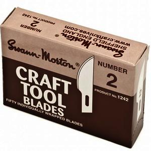 Swann Morton® No.2 Craft Tool Blades (50 Pack) 1242