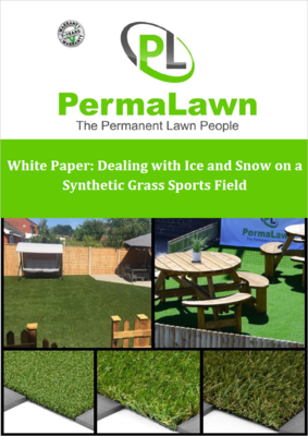 White Paper: Dealing with Ice and Snow on a Synthetic Grass Sports Field