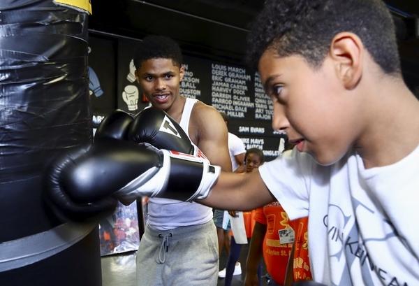 Shakur Stevenson and Joshua Greer Jr. Give Back to Local Children in Newark