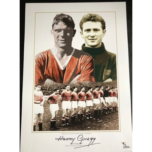 Duncan Edwards Tribute Print