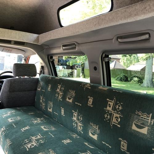 2000(W)reg Mazda Bongo Camper Van 2 Berth 2.0 Petrol Automatic - Orange Metallic