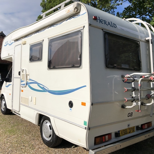 Compass Herald Squire RL Motorhome 4 Berth - 2000 (V)reg Ford Transit 2.5TD 56822 Miles