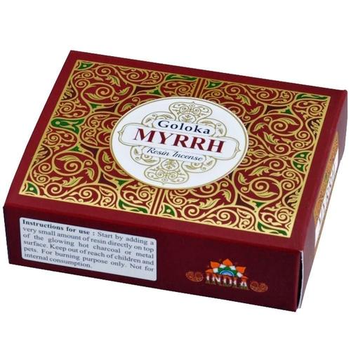 Goloka Myrrh Resin Incense