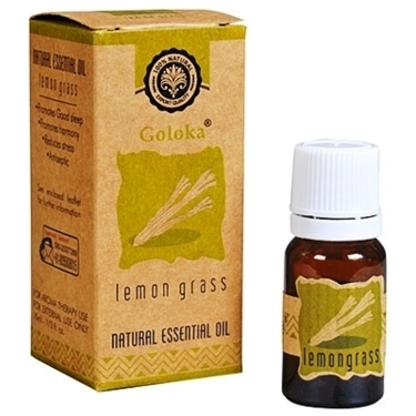 Goloka Lemongrass Essential Oil