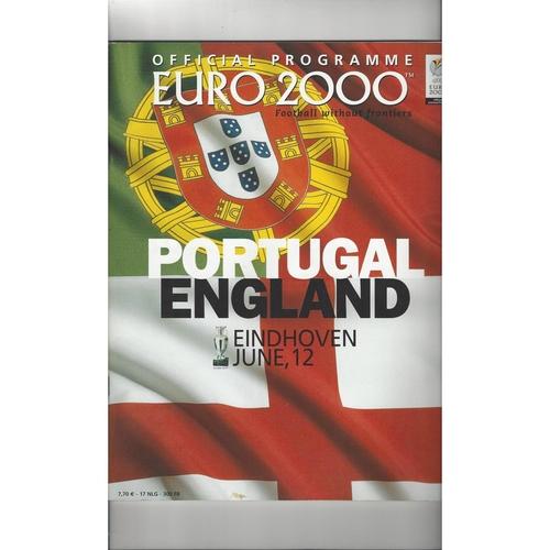 Euro 2000 England v Portugal Football Programme