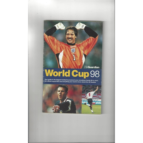 1998 World Cup Pack of 10 Various items