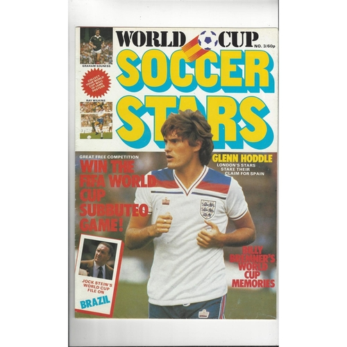 1982 World Cup Soccer Stars No3