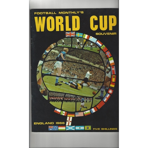 1966 World Cup Football Monthly