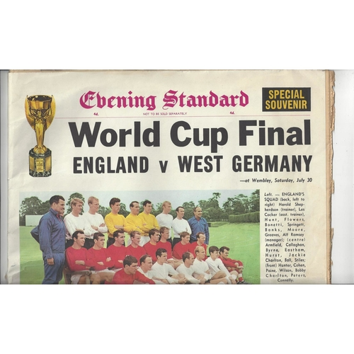 1966 WORLD CUP Newspaper