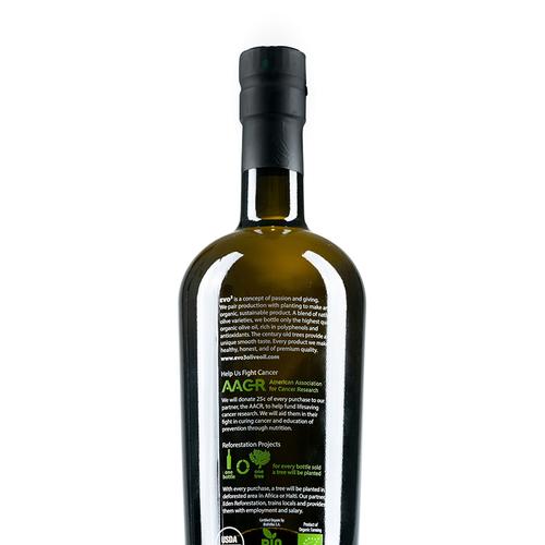 EVO3 Extra Virgin Organic Olive Oil