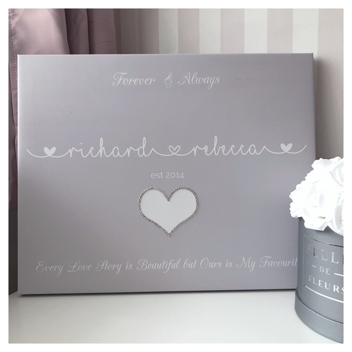 Glitter Canvas Couples Established