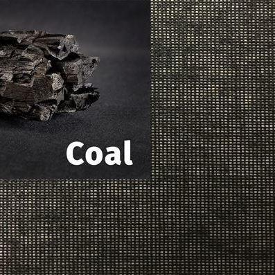 SQUID® - Coal - Transparent Fabric