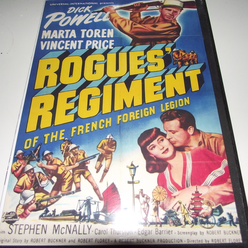 ROGUES REGIMENT 1948 DVD